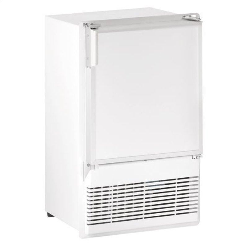 """Wh95fc 14"""" Crescent Ice Maker With White Solid Finish (230 V/50 Hz Volts /50 Hz Hz)"""