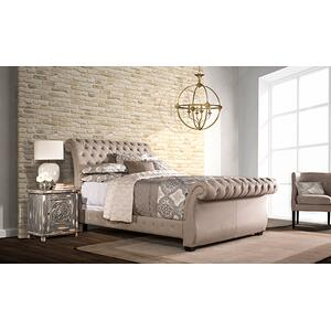 Gallery - Bombay King Bed Set - Rails Included