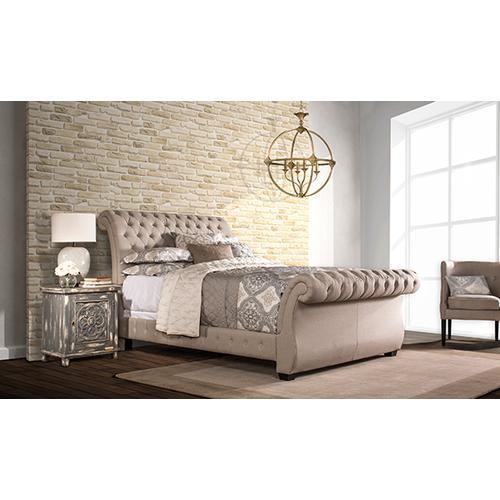 Hillsdale Furniture - Bombay King Bed Set - Rails Included