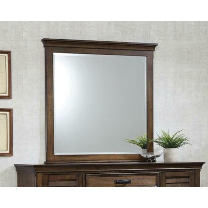 See Details - Franco Burnished Oak Dresser Mirror