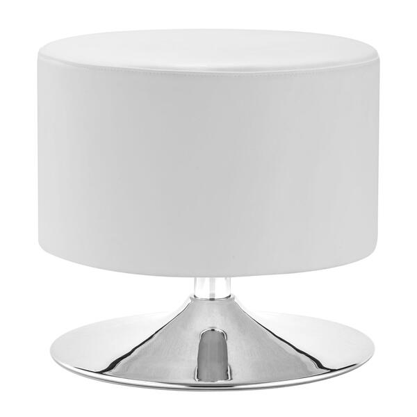 See Details - Plump Ottoman White