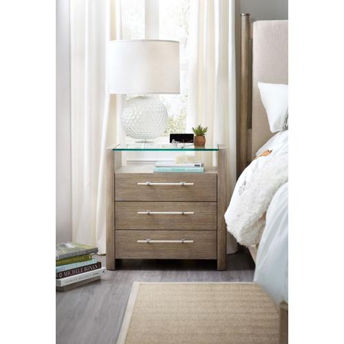 Bedroom Affinity Three-Drawer Nightstand