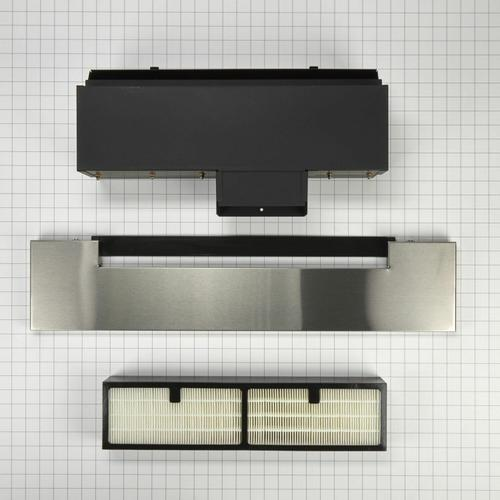 KitchenAid - Range Ductless Downdraft Vent Kit, Stainless Steel - Other