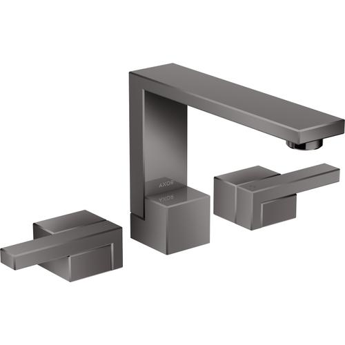 AXOR - Polished Black Chrome Widespread Faucet 130, 1.2 GPM