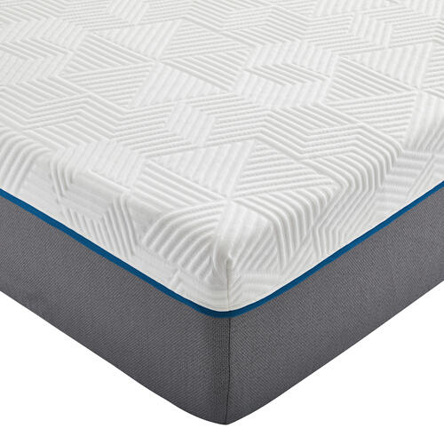 "Renue 14"" Medium Firm Memory Foam Mattress, King"