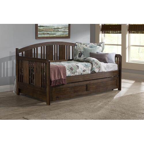 Gallery - Dana Daybed With Trundle, Brushed Acacia