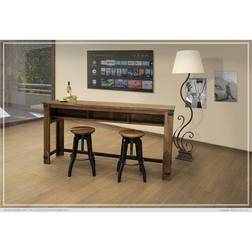 Counter Height Sofa Table