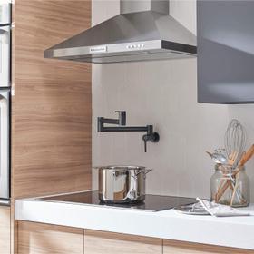 Studio S Pot Filler Kitchen Faucet  American Standard - Matte Black