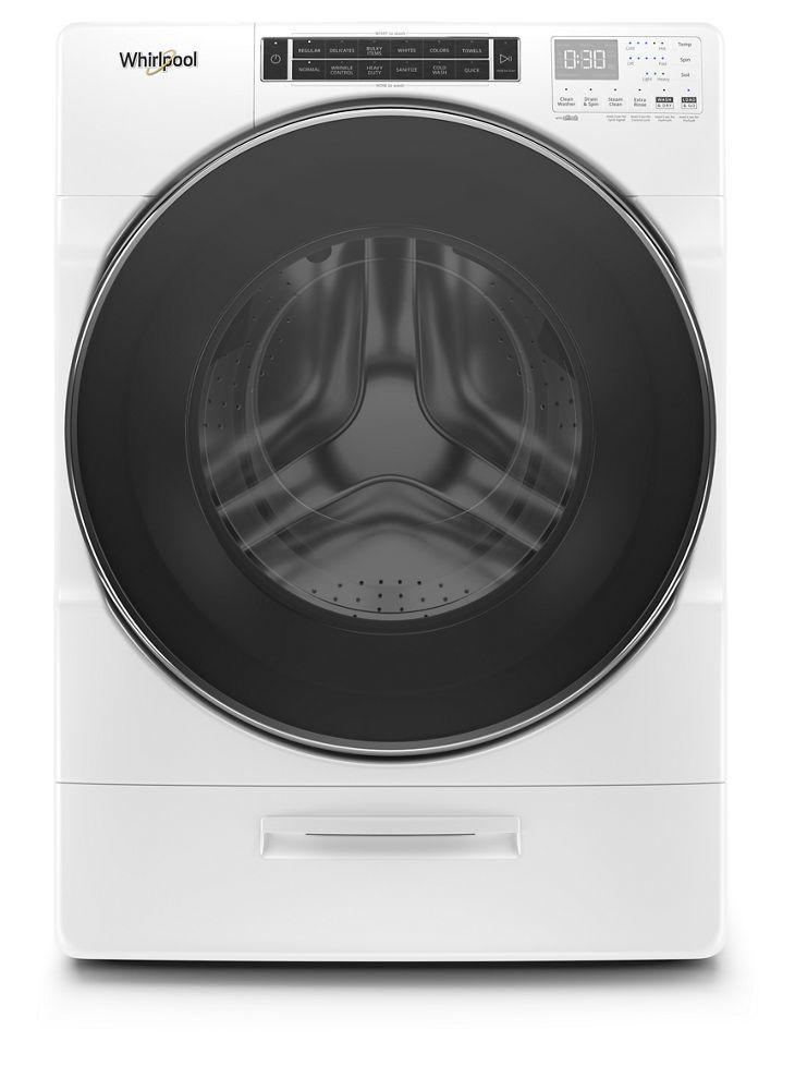 Whirlpool5.0 Cu. Ft. Front Load Washer With Load & Go Xl Dispenser