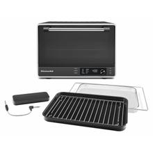 See Details - Dual Convection Countertop Oven with Air Fry and Temperature Probe - Black Matte