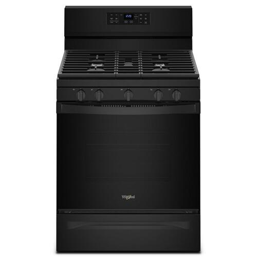 Product Image - 5.0 cu. ft. Whirlpool® gas convection oven with Frozen Bake technology