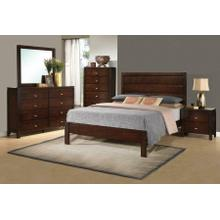 Cameron Transitional Rich Brown California King Four-piece Set