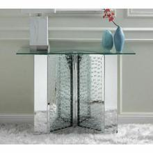 ACME Nysa Console Table - 90510 - Mirrored & Faux Crystals