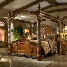 View Product - Cal King Canopy Bed