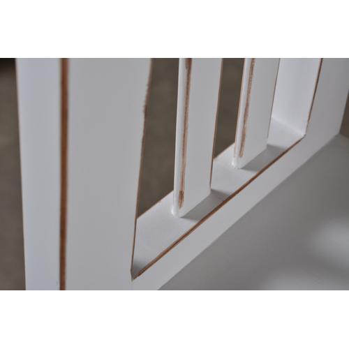 Horizon Home Furniture - Varsity 48'' White Bookcas
