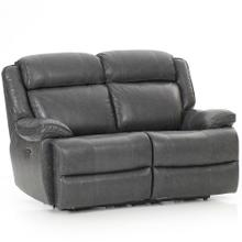 Avalon Dual Power Reclining Loveseat  Smoke