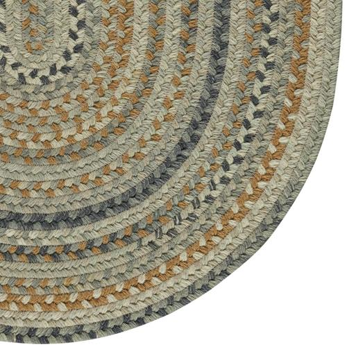 Fusion Desert Taupe Braided Rugs (Custom)