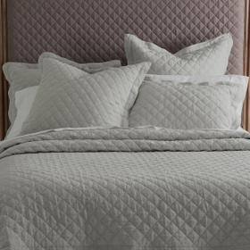 Oslo 6pc King Quilt Set Gray