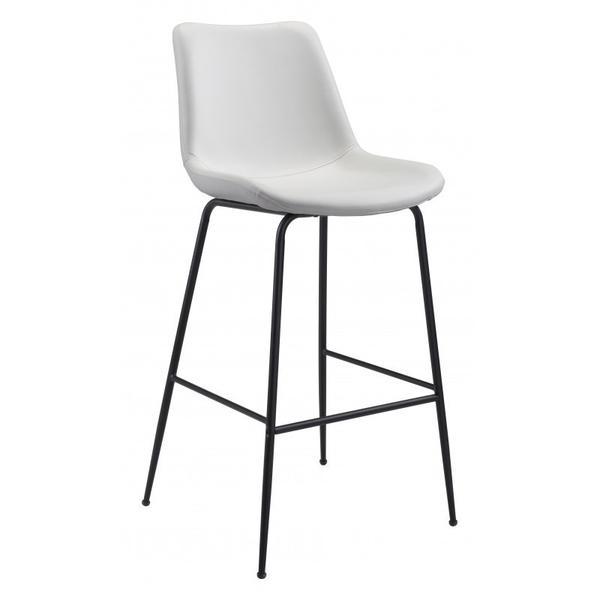 Byron Bar Chair White