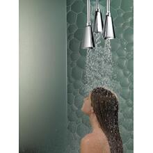 Chrome H 2 Okinetic ® Pendant Raincan Shower Head