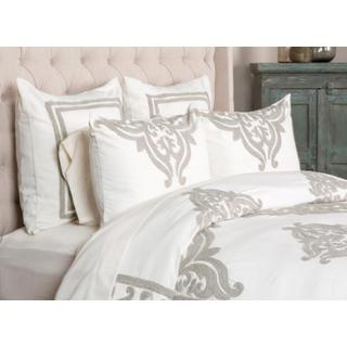 Patrina Ivory 5Pc Queen Duvet Set