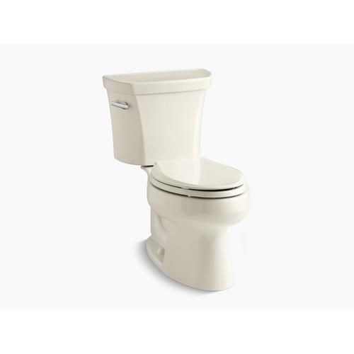 Kohler - Almond Two-piece Elongated 1.6 Gpf Toilet
