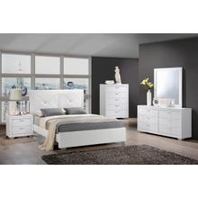 Brahma White Queen 4PC Bedroom Set