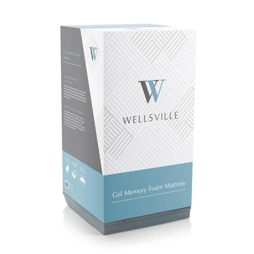 Wellsville 8 Inch Gel Foam Mattress Full