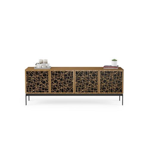 BDI Furniture - Elements 8779 Console Storage Console in Ricochet Doors Natural Walnut