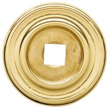 View Product - Polished Brass Knob Back Plate