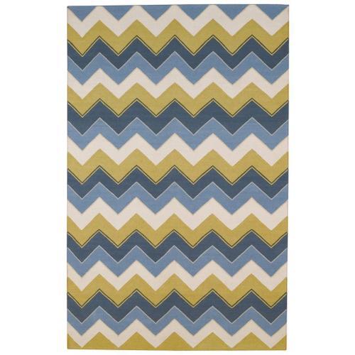 "Irish Stitch Slate Clay - Rectangle - 5' x 8'6"""