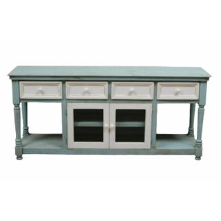 See Details - Tiffany Blue Lakewood Console/buffet