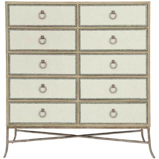 See Details - Rustic Patina Tall Chest in Sand (387)
