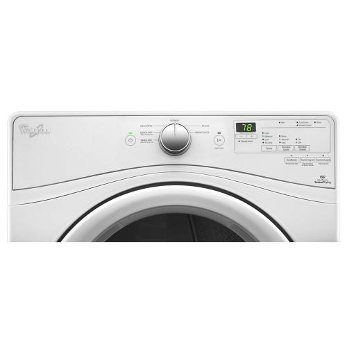 Gallery - 7.4 cu.ft Front Load Electric Dryer with Advanced Moisture Sensing