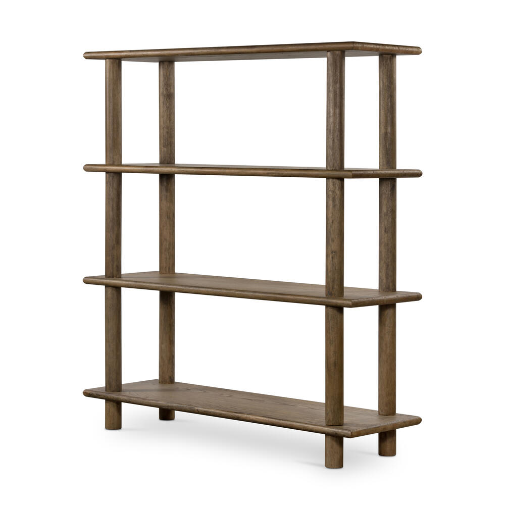 Toasted Natural Finish Mattia Bookshelf