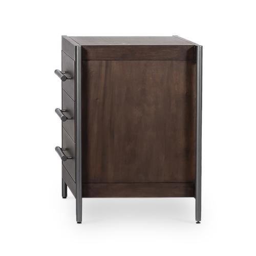 Jordan Nightstand-warm Brown