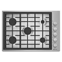 """See Details - Pro-Style® 30"""" 5-Burner Gas Cooktop Pro Style Stainless"""