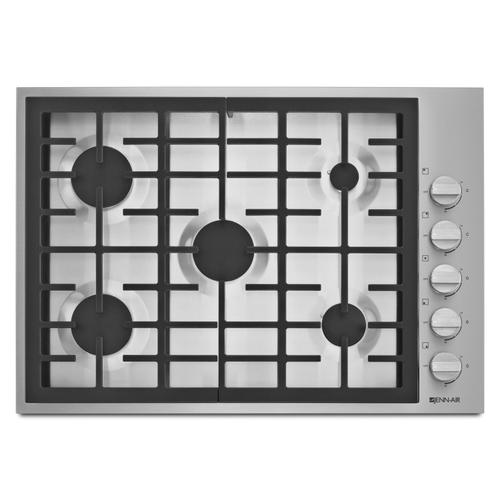 """JennAir - Pro-Style® 30"""" 5-Burner Gas Cooktop Pro Style Stainless"""