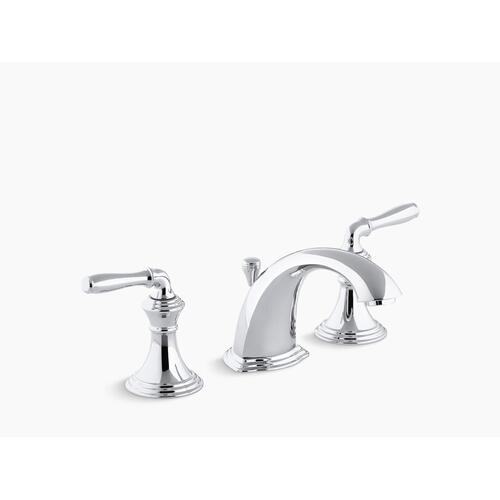 Vibrant Brushed Nickel Widespread Bathroom Sink Faucet