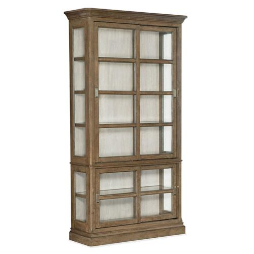 Dining Room Montebello Sliding Door Display Cabinet