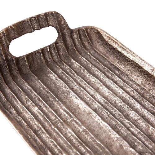Howard Elliott - Organic Grooved Aluminum Tray