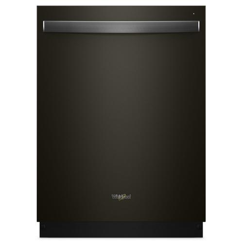 Whirlpool - Stainless Steel Tub Dishwasher with TotalCoverage Spray Arm Black Stainless