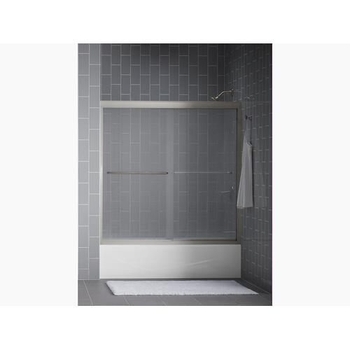 "Almond 60"" X 30"" Alcove Bath With Integral Apron and Right-hand Drain"