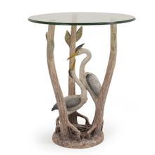 Double Heron Side Table