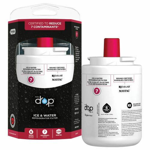 Ice & Water Refrigerator Filter - 2 Pack