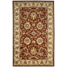 "Eloquent Garden Arabian Red - Rectangle - 2'6"" x 3'6"""