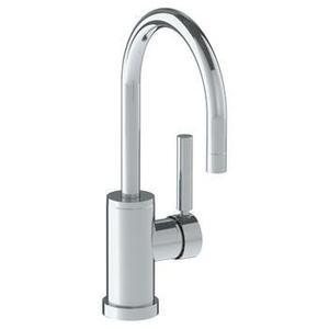 Deck Mounted 1 Hole Gooseneck Bar Faucet Product Image