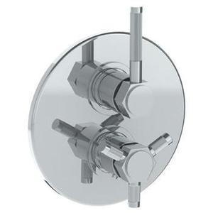 "Wall Mounted Thermostatic Shower Trim With Built-in Control, 7 1/2"" Product Image"