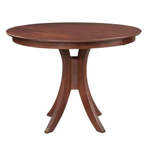 John Thomas Furniture - 36'' H Siena Pedestal Table in Espresso
