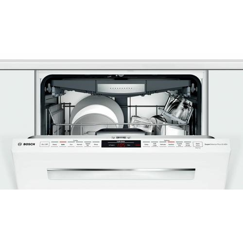 800 Series Dishwasher 24'' White SHP878ZD2N